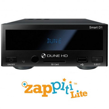 DUNE HD SMART D1 SYSTEM STORAGE + ZAPPITI