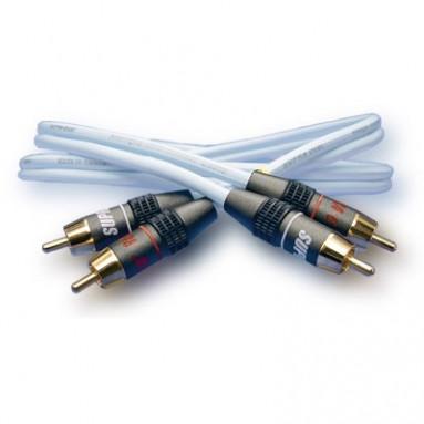 SUPRA CABLE AUDIO DUAL RCA 1 M