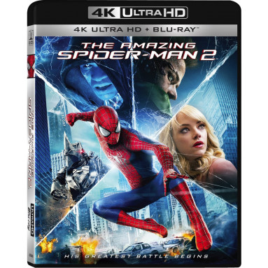 AMAZING SPIDER MAN 2 (ULTRA HD BLU RAY)