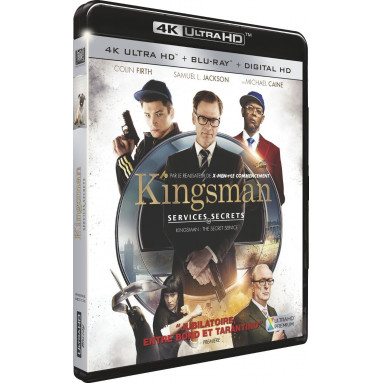 KINGSMAN (ULTRA HD BLU RAY)