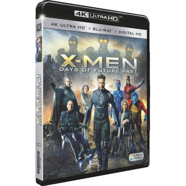 X-MEN DAYS OF FUTURE PAST (ULTRA HD BLU RAY)