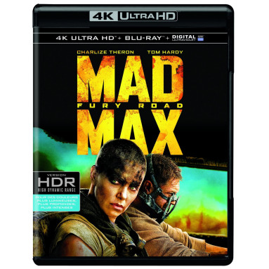 MAD MAX FURY ROAD (ULTRA HD BLU RAY)