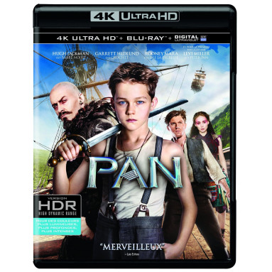 PAN (ULTRA HD BLU RAY)