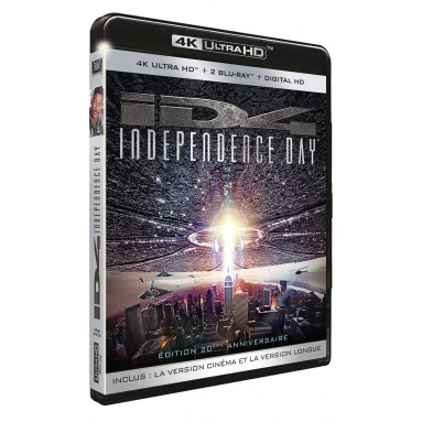 INDEPENDENCE DAY (ULTRA HD BLU RAY)