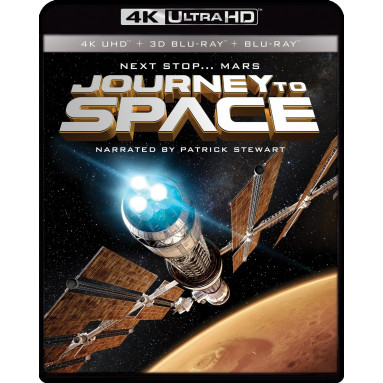 JOURNEY TO SPACE IMAX (ULTRA HD BLU RAY)