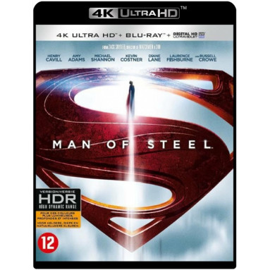 MAN OF STEEL (ULTRA HD BLU RAY)