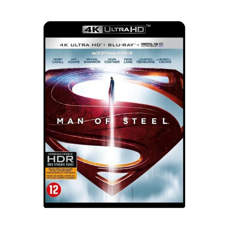 MAN OF STEEL (ULTRA HD BLU RAY)