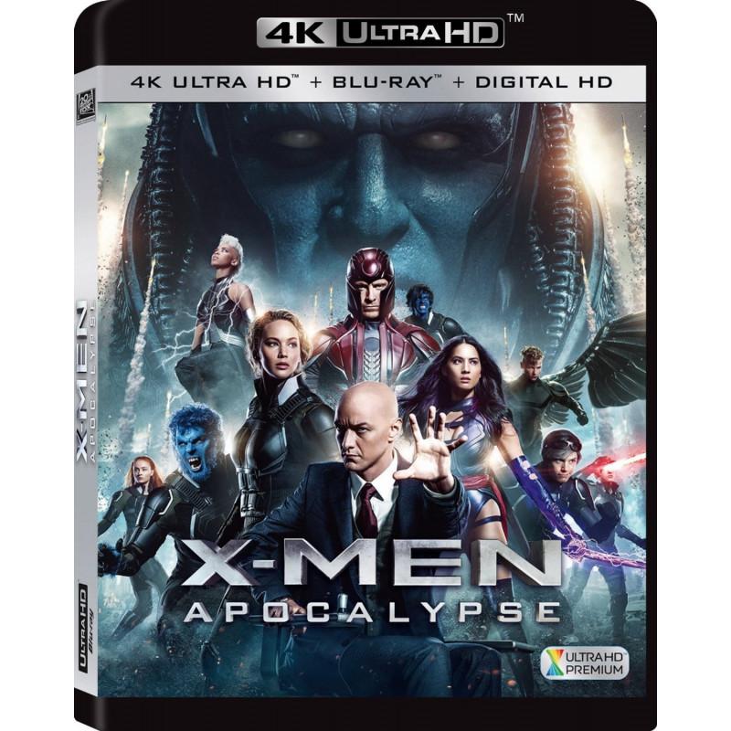 X-MEN APOCALYPSE (ULTRA HD BLU RAY)