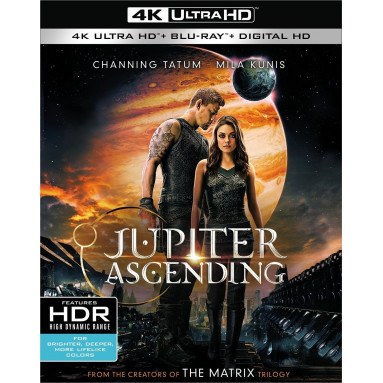 JUPITER ASCENDING (ULTRA HD BLU RAY)