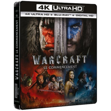 WARCRAFT (ULTRA HD BLU RAY)