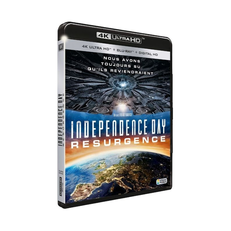 INDEPENDENCE DAY RESURGENCE (ULTRA HD BLU RAY)