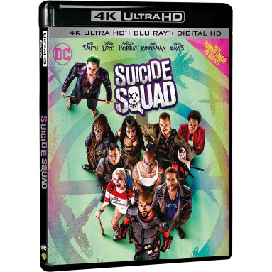 SUICIDE SQUAD (ULTRA HD BLU RAY)