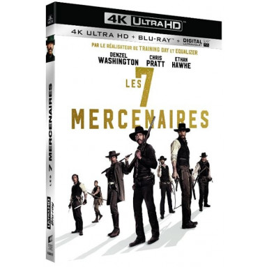 7 MERCENAIRES (ULTRA HD BLU RAY)