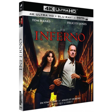 INFERNO (ULTRA HD BLU RAY)