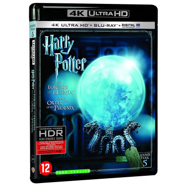 HARRY POTTER ET L'ORDRE DU PHOENIX (ULTRA HD BLU RAY)