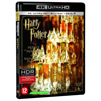 HARRY POTTER ET LE PRINCE DE SANG MELE (ULTRA HD BLU RAY)