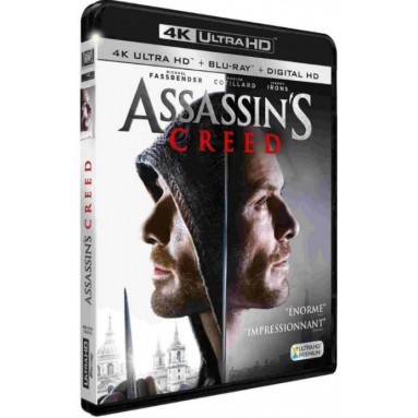 ASSASSIN'S CREED (ULTRA HD BLU RAY)