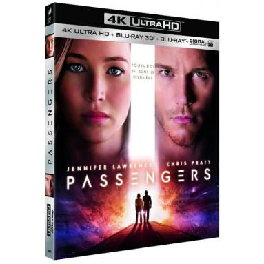 PASSENGERS (ULTRA HD BLU RAY)