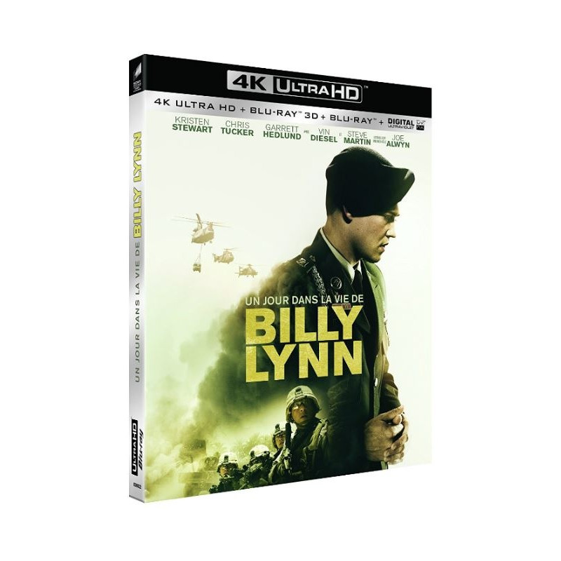 JOUR DANS LA VIE DE BILLY LYNN (ULTRA HD BLU RAY)