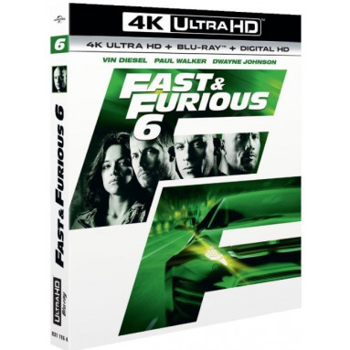 FAST & FURIOUS 6 (ULTRA HD BLU RAY)