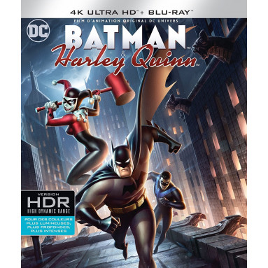 BATMAN & HARLEY QUINN (ULTRA HD BLURAY)