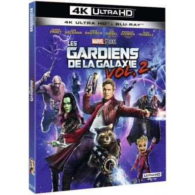 GARDIENS DE LA GALAXIE VOL 2 (ULTRA HD BLU RAY)