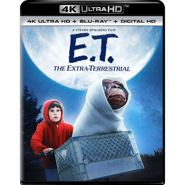 E.T.  (ULTRA HD BLU RAY)