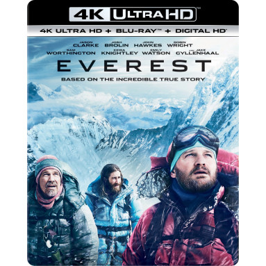 EVEREST (ULTRA HD BLU RAY)
