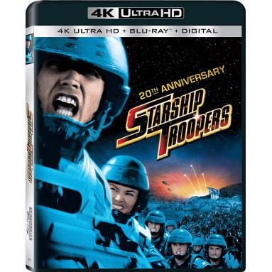 STARSHIP TROOPERS (ULTRA HD BLU RAY)