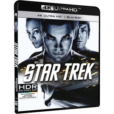 STAR TREK (2009) ULTRA HD BLU RAY