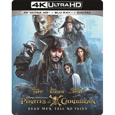 PIRATES OF THE CARIBBEAN : DEAD MEN TELL NO TALES (ULTRA HD BLU-RAY)