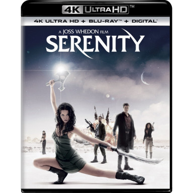 SERENITY (ULTRA HD BLU RAY)
