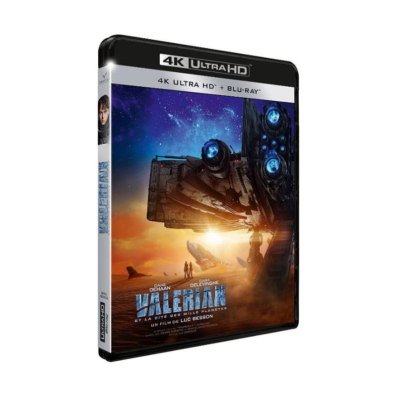 VALERIAN 4K (ULTRA HD BLU RAY)