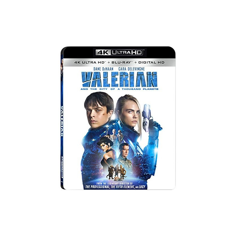 VALERIAN (ULTRA HD BLU RAY)/US