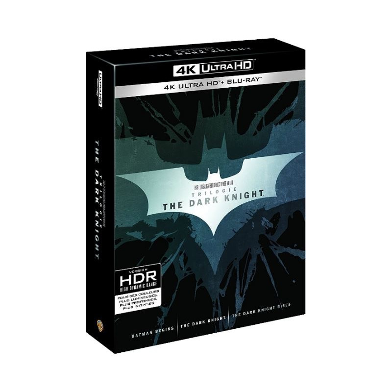 DARK KNIGHT TRILOGIE (ULTRA HD BLU RAY)