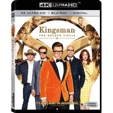 KINGSMAN THE GOLDEN CIRCLE (ULTRA HD BLU RAY)