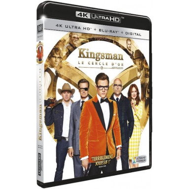 KINGSMAN LE CERCLE D'OR (ULTRA HD BLU RAY)
