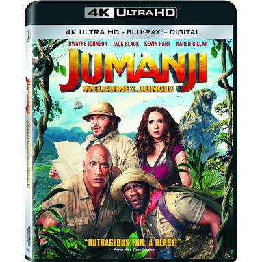 JUMANJI WELCOME TO THE JUNGLE (ULTRA HD BLU RAY)