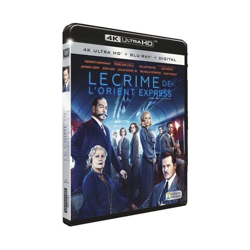CRIME DE L'ORIENT EXPRESS (ULTRA HD BLU RAY)