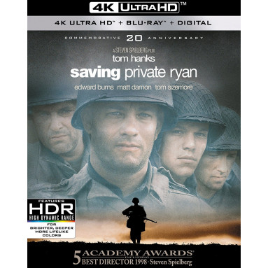 SAVING PRIVATE RYAN (ULTRA HD BLU RAY)