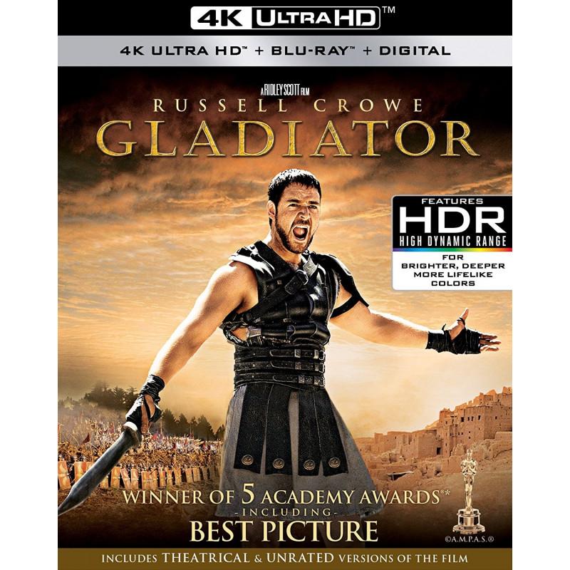 GLADIATOR (ULTRA HD BLU RAY)