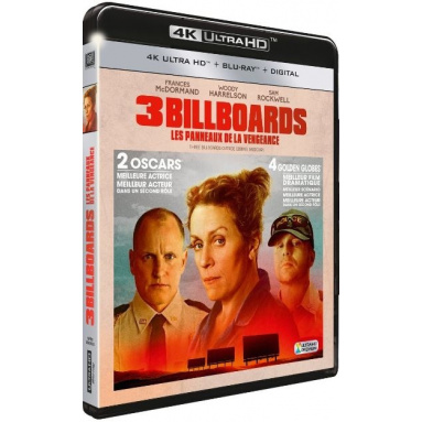 3 BILLBOARDS (ULTRA HD BLU RAY)
