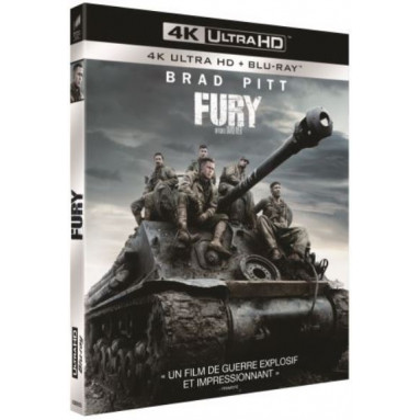 FURY (ULTRA HD BLU RAY)