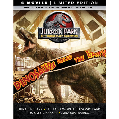 JURASSIC PARK COLLECTION (ULTRA HD BLU RAY)