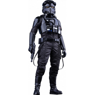 COLLECTIBLE FIRST ORDER TIE PILOT 1:6