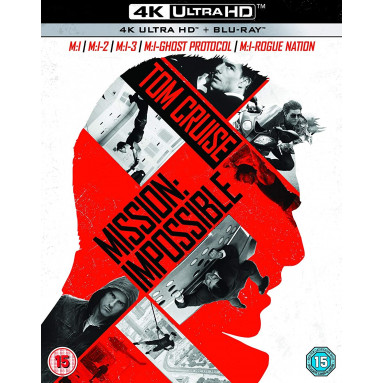 MISSION IMPOSSIBLE COLLECTION (ULTRA HD BLU RAY)/UK