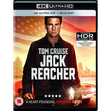 JACK REACHER (ULTRA HD BLU RAY)/UK