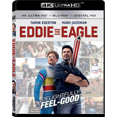 EDDIE THE EAGLE (ULTRA HD BLU RAY)