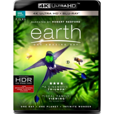 EARTH: ONE AMAZING DAY (ULTRA HD BLU RAY)