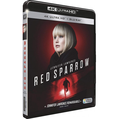 RED SPARROW (ULTRA HD BLU RAY)